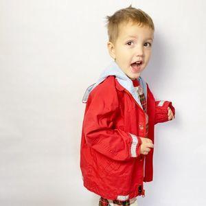 Hanna Andersson Red Lightweight Jacket